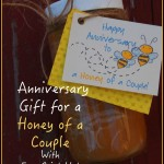 """Honey of a Couple"" Anniversary Gift One-Minute Tutorial"