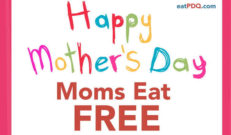 Moms Eat Free on Mother's Day 2015