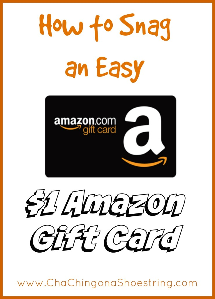 How to Earn an Easy $1 Amazon Gift Card!