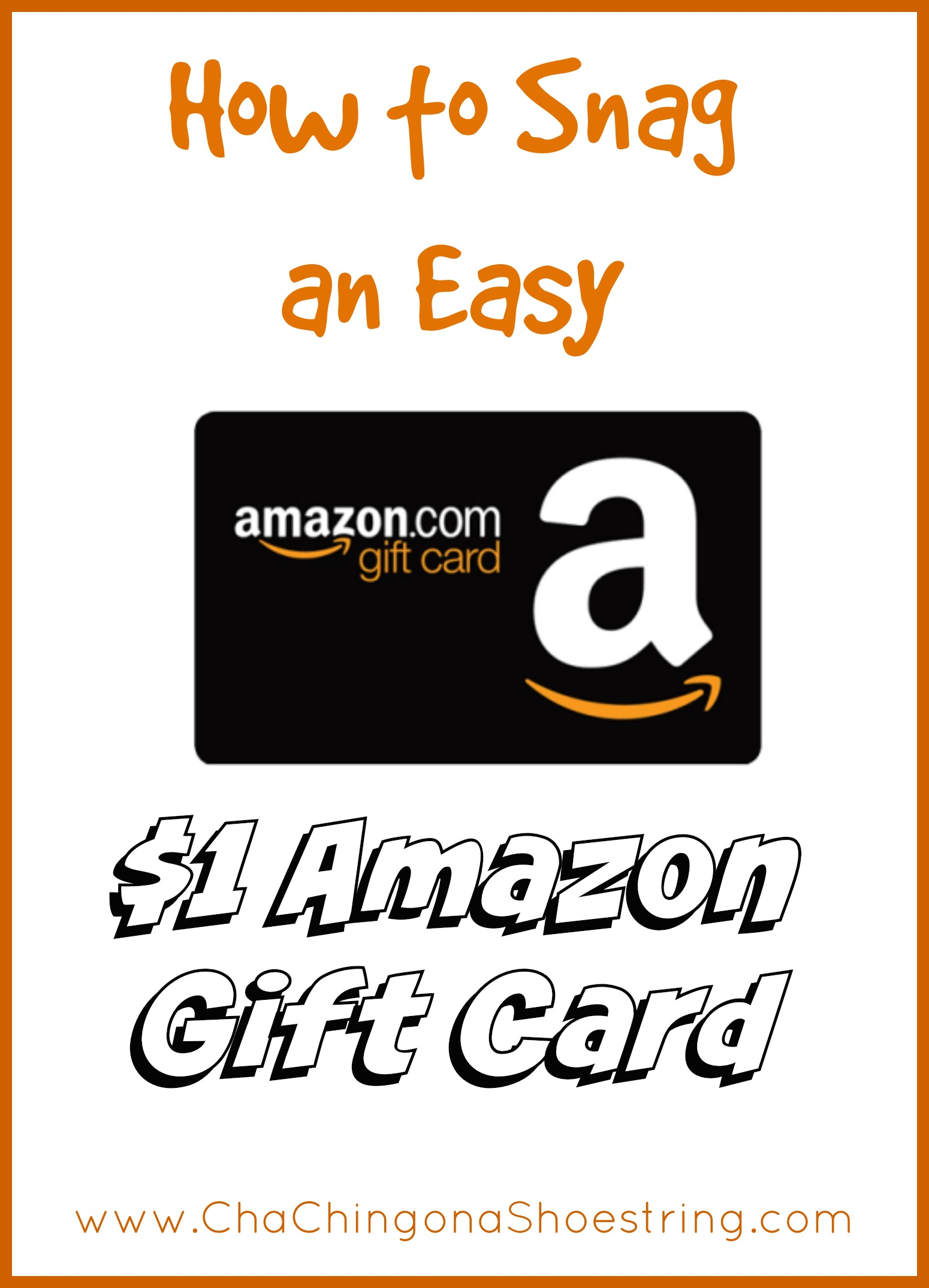 How to Snag an Easy $1 Amazon Gift Card