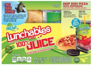 Lunchables Juice