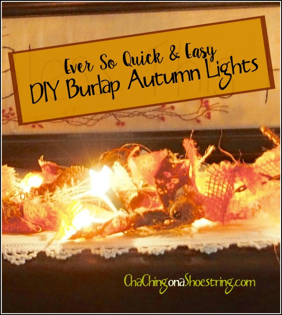 DIY Autumn Lights