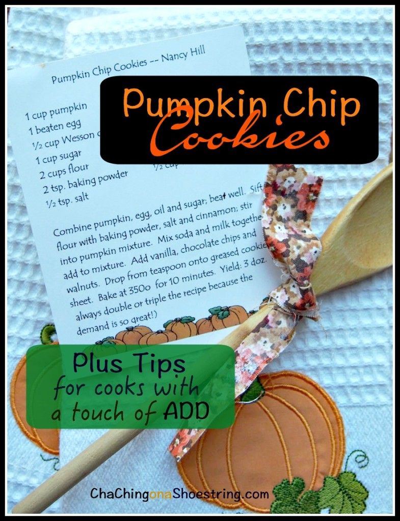 Pumpkin Chip Cookies ADD