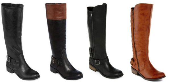 JCPenney: Women's Boots for $1...