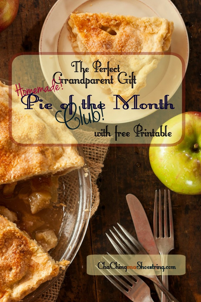 Grandparents Pie of the Month Club