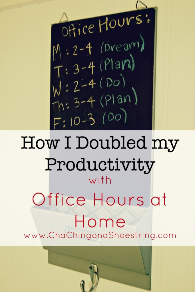 How I Doubled My Productivity with Office Hours at Home