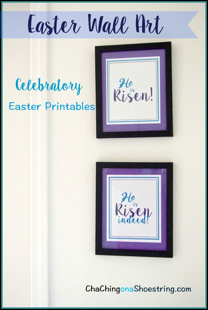 Easter Wall Art Printable