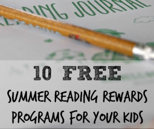 Free Reading Reward Programs