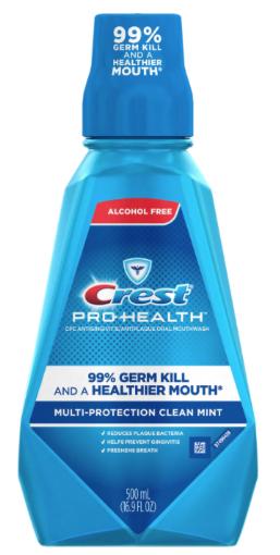 cvs  crest pro-health mouthwash for   49