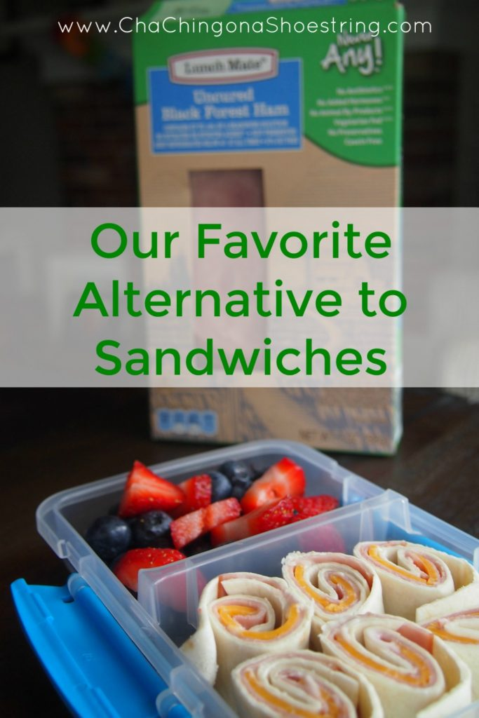 Our favorite alternative to Sandwiches for School Lunches.
