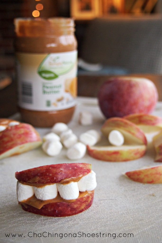 Apple Peanut Butter Lips
