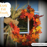 How To Make An EASY Fall Wreath In 5 Simple Steps!