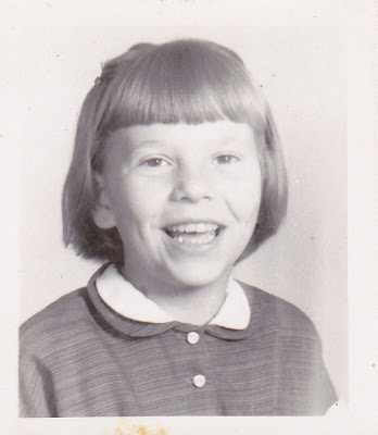 My third-grade picture that my dad carried in his wallet.