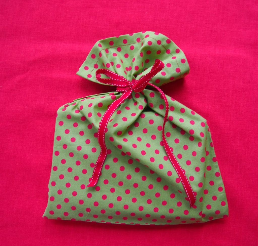 Handmade Christmas Bag