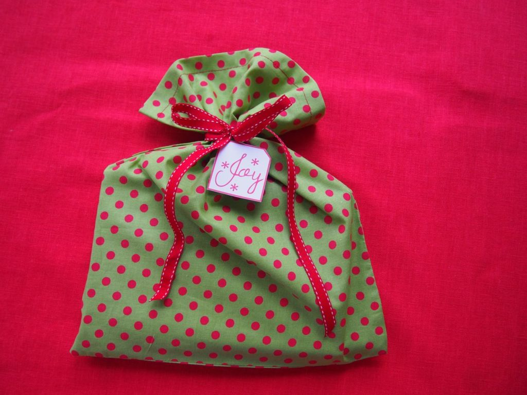 Handmade Christmas Bag Tag