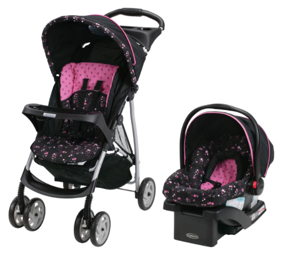 Walmart: Graco LiteRider Click Connect Stroller and Car ...