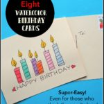 8 Super-Easy DIY Watercolor Birthday Cards