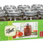 Amazon: Set of 12 Ball Pint Canning Jars for $6.07 ($0.50 per Jar)