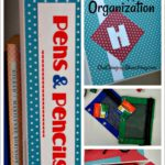 Super-Easy Art Supplies Organization Idea