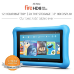 Amazon: All-New 32 GB Fire HD 8 Kids Edition Tablet with Kid-Proof Case for $99 (Reg. $130)