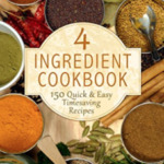FREE Kindle eBook: 4 Ingredient Cookbook