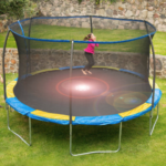 Walmart: BouncePro 14′ Trampoline with Enclosure for $179.99 (Reg. $329)