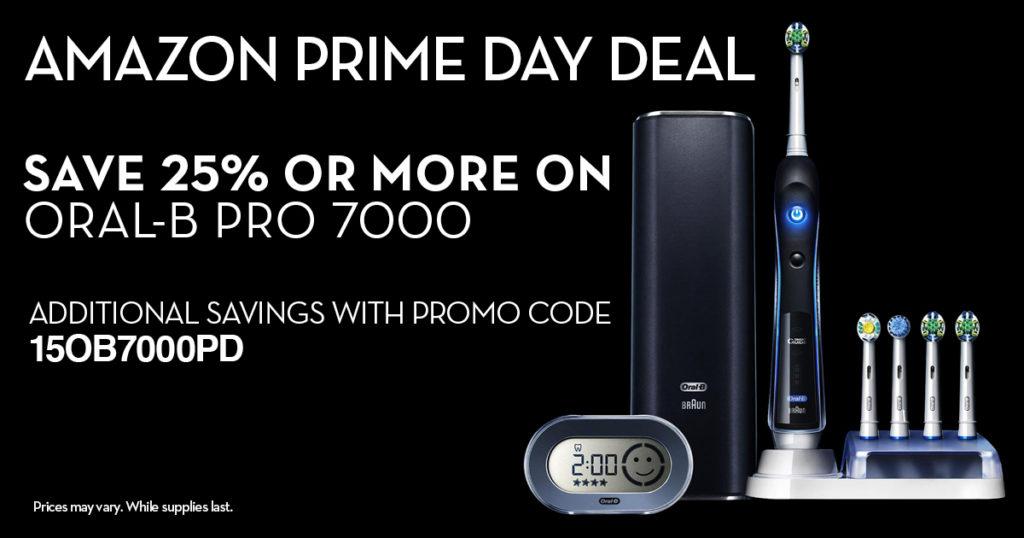 Amazon Prime Day Oral B Deal
