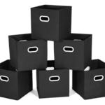 Amazon: Foldable Fabric Storage Bin 6-Packfor$9.99 (Reg. $23)