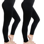 Amazon: Women's Fleece Lined High Waist Leggings 2-Pack for $11.18 ($5.59 Each)