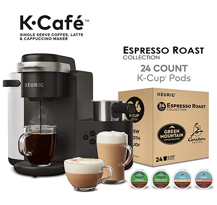 Amazon Cyber Monday: Keurig K-Cafe Latte And Cappuccino